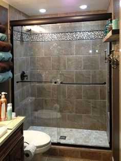 You need a lot of minimalist bathroom ideas. The minimalist bathroom design idea has many advantages. See the best collection of bathroom photos. Basement Bathroom, Small Bathroom, Master Bathroom, Bathroom Ideas, Tan Bathroom, Budget Bathroom, Bathroom Showers, Attic Bathroom, Tile Showers