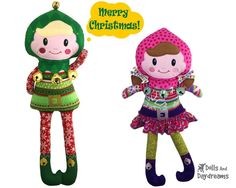 ITH Enchanted Elf Pattern