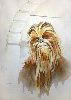 Chewbacca the Mighty Wookie by MikeKretz