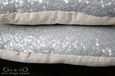 fancy sequin pillow {tutorial} | Jones Design Company | stylish designs for life