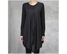 long sleeve chiffon modal dress/spring dress/slim by FashionOrgy, $57.28