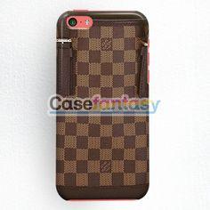 Louis Vuitton Bucket Damier Ebene Canvas Handbags iPhone 5C Case | casefantasy
