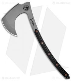 RMJ Tactical produces a variety of heavy-duty, military grade tomahawks and axes. Rmj Tactical, Tactical Knives, Tactical Swords, Cool Knives, Knives And Swords, Beil, Fantasy Weapons, Fantasy Dagger, Battle Axe