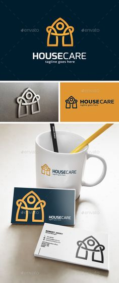 House Care Logo — Vector EPS #apartment #agent • Available here → https://graphicriver.net/item/house-care-logo-/12722745?ref=pxcr