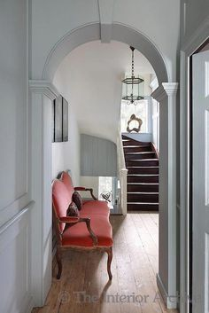 Rescued by the Spitalfields Trust along with the adjoining row of houses, the interior of this Georgian property has been restored to its former glory #ContemporaryInteriorDesignlivingroom