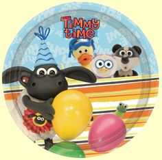 Timmy Time Party Plates