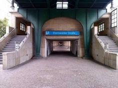 U-Bahnstation Eberswalder Straße in Berlin. Wohnen in Berlin Prenzlauer Berg. #Berlin #UBahnstation #EberswalderStraße