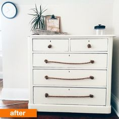 Before & After: A Heavy Dresser Gets a Knot-Too-Shabby Makeover | Apartment Therapy