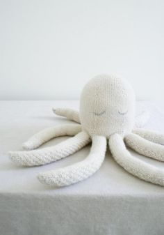 I can't say that I've ever felt the desire to hug an actual octopus, but a stuffed one has a distinct appeal: eight embracing arms! With such magnanimity, a Knit Octopus makes a pretty sweet companion!  What I didn't know about designing an octopus was that it would put me on a deep-sea exploration of knitting's inherent intelligence. Knitting, like the ocean itself, answers to an inscrutable essence, part natural law and part mystery. Bound by the mathematics of eight, this Knit Octopus…