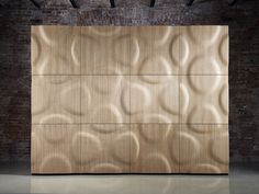 panel de pared d modular de madera montana by moko