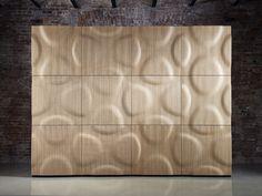 panel de pared d modular de madera montana by moko