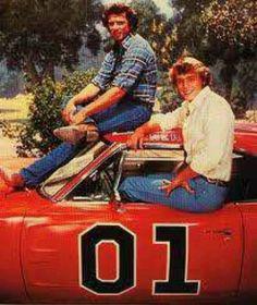 Bo and Luke Duke - The Dukes of Hazzard (Tom Wopat, John Schneider)