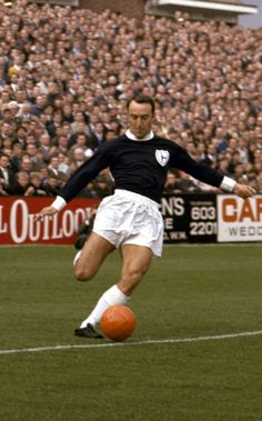 Jimmy Greaves - He is England's fourth highest international goalscorer (44 goals in 57 app.)