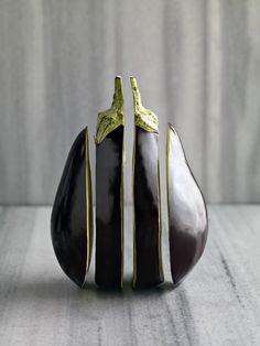 Aubergine - Gokce Erenmemisoglu (Ingredients Art Food Coloring)