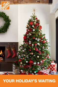 Are you looking for more Christmas decoration ideas? Find a selection of beautiful Christmas décor themes to suit every style, from modern to traditional. The Home Depot has you covered with Christmas décor ideas to match your home and budget. Don't wait — visit us today and find everything you need!