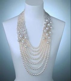Mikimoto Akoya pearls Necklace by sirkkary