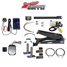 12 Ton (24,000 lb) Dump Trailer Hydraulic Scissor Hoist Kit | Model PH630 Premium