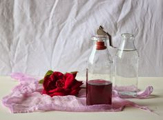 Vanilla&Staubzucker: Acqua di rose e storia di una rosa