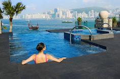 Hotel Intercontinental, Hong Kong, Infinity Pool