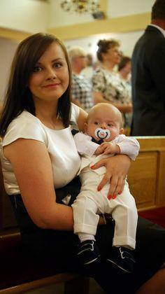 ubranko na chrzest dla chłopca