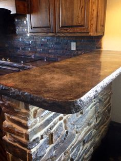 Another beautiful concrete countertop done by Concrete Expressions