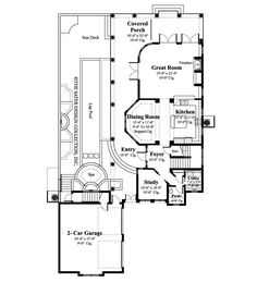 French House Plans With Dormers. French. Home Plan And House ...