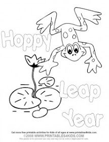 Froggy DottoDot for Leap Year