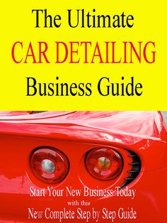How To Start a CAR DETAILING BUSINESS From Home Today Easy Step by Step Guide via Etsy