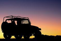 Jeep Silhouette against Sunset by Matt G. Harris, via Flickr