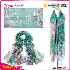 2015 New Quality Fake Silk China Wholesale Scarf