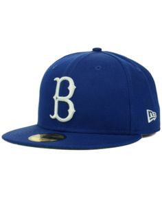 b9a9693beb0 New Era Brooklyn Dodgers Mlb Cooperstown 59FIFTY Cap - Blue 7 3 4 Dodgers