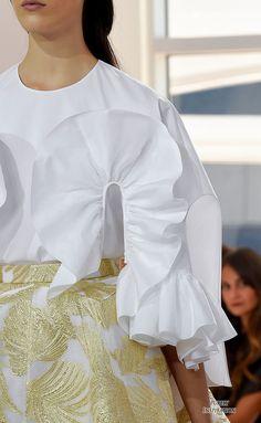 Delpozo SS2016 (details) Women's Fashion RTW   Purely Inspiration