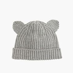 Kids' kitten hat