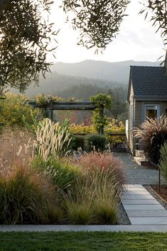 50+ CREATIVE IDEAS FOR A CHARMING GARDEN PATH #ideas #charming #gardenpaths #garden #grasses Country Roads, Organic Gardening, Canning, Preserve