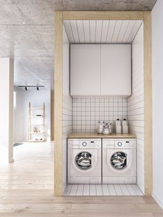 Using the step is a good idea to lift the D/W &/or washing machine to a better working height.