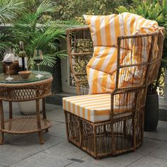 Summer is here !!!! Bring home this chic Calyx Chair and liven up your balcony. The striped cushions give it a modern vibe, and the detailing keeps it cool and classic. Visit our store in Kirti Nagar, New Delhi for more exciting options, and DM us for details! #idusfurniture #furniture #outdoorfurniture #delhifurniture #outdoordecor #outdoorchair #balconydecor #terracefurniture #summer