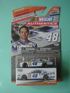 1/64 JIMMIE JOHNSON #48 LOWE S NASCAR AUTHENTICS