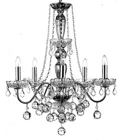 Four Chandelier Drawings