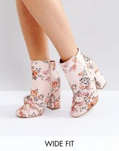 ASOS ERICA Wide Fit Ankle Boot