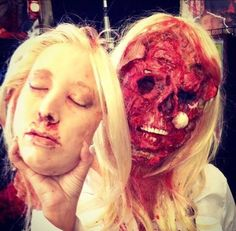 Face off zombie- how cool is this?!?!