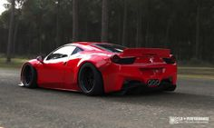 The LB Performance Ferrari 458 Italia is dirty.  And we like it.
