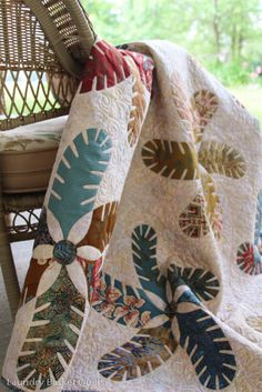 another amazing project from Laundry Basket Quilts