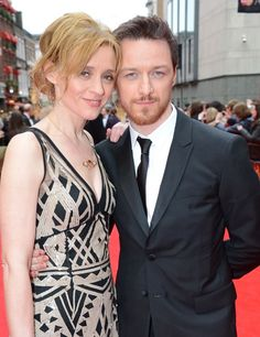 James with  Anne-Marie Duff.