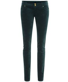 Trend Colour green! Velvet Trousers by Tommy Hilfiger #fashion #fall #styles #engelhorn
