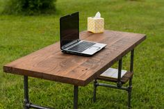 Looking for Reclaimed Wood Desk Table - Rustic Solid Oak Black Iron Pipe legs. Check out our picks for the Reclaimed Wood Desk Table - Rustic Solid Oak Black Iron Pipe legs. from the popular stores - all in one.
