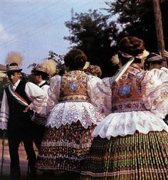 Vintage festival Sióagárd, Tolna County, by Károly Koffán European Costumes, Vintage Festival, Vintage Jewelry Crafts, Hungarian Embroidery, Tribal Dress, Wedding Costumes, My Heritage, Traditional Dresses, Blog Designs