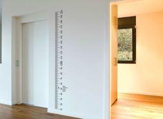 Ruler-Height-Chart-Sticker-growth-chart-Vinyl-Decal-Kit-DIY-Wall-wooden-board