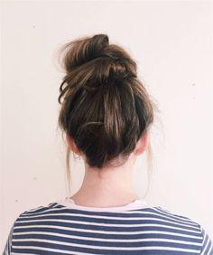 20 Quick And Easy Hairstyles You Can Wear To WorkFacebookGoogle+InstagramPinterestTumblrTwitterYouTube