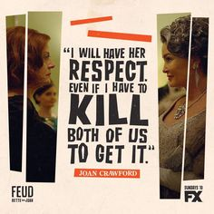 Ryan Murphy's FX anthology series FEUD: Bette and Joan centers on the legendary rivalry between Joan Crawford and Bette Davis. Baby Jane, Ryan Murphy, Anthology Series, Tv Station, Bette Davis, Joan Crawford, Reality Tv