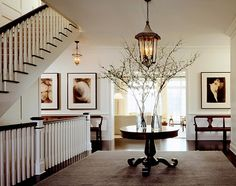 Filling space in a large entry. Dream Home: Verdigris Vie
